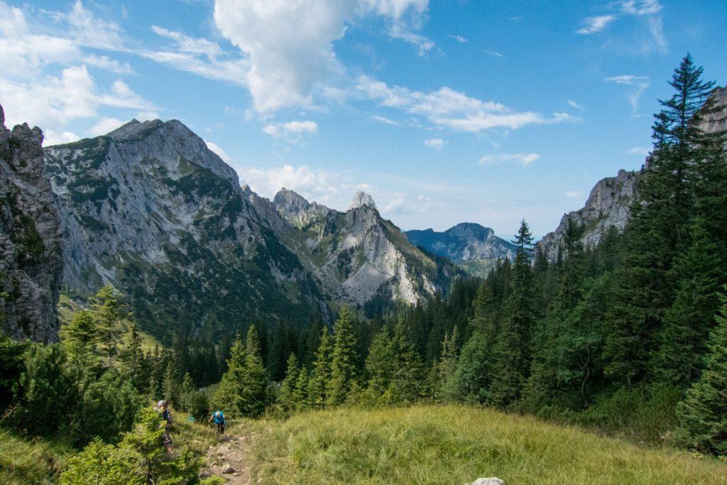 Die Berge rund um Lechbruck